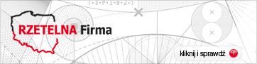 Certyfikat rzetelności | P.H.U. Sigma - pompy ciepła